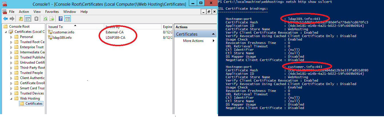 Windows Server 2012 Pfx Certificates And Sni Feature Under Iis 80