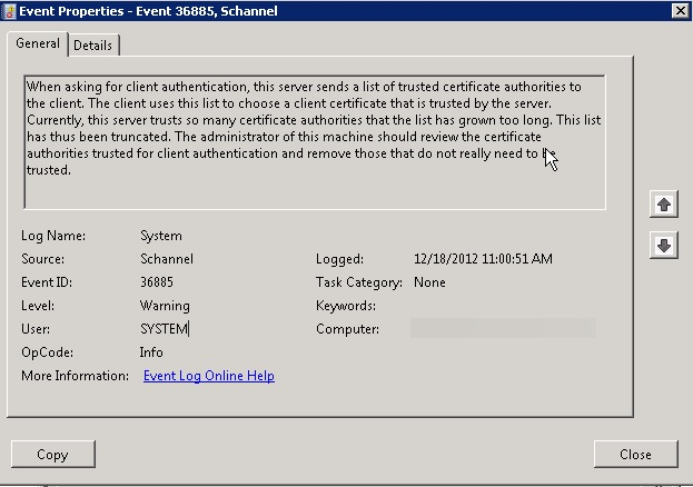 Powershell: Monitor the trusted root certification