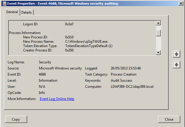 Powershell: Forensic One-liners | ldap389